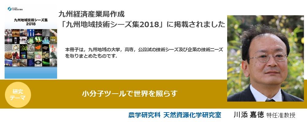 九州地域技術シーズ集2018(川添准教授)